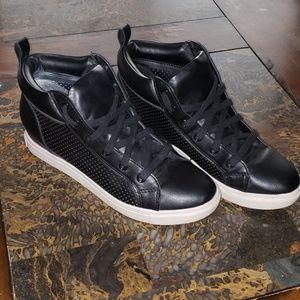 Black Heel Sneakers
